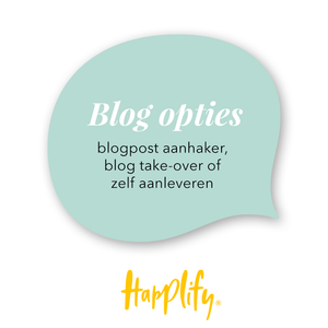 Happlify - Blog opties