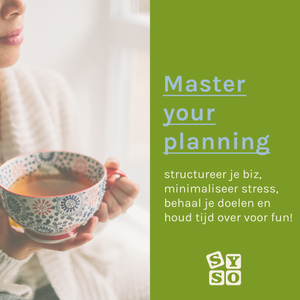 Master your planning jaarplan