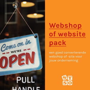 Webshop of website pack