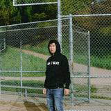 Space Yacht Logo Hoodie- Black on Black Camo (Limited Edition) SMALL ONLY