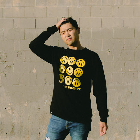 Smiley Crewneck Front Print (Limited Edition)