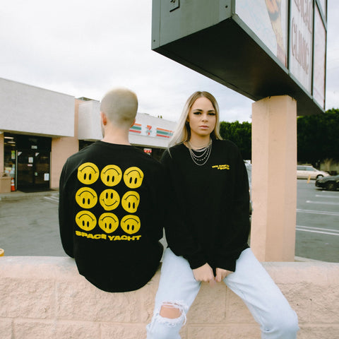 """We Are So F*cked"" Smiley Face Long Sleeve (Large Only)"
