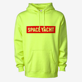 NEON LEMON BOX LOGO HOODIE (ONLY 1 XL LEFT IN STOCK!)