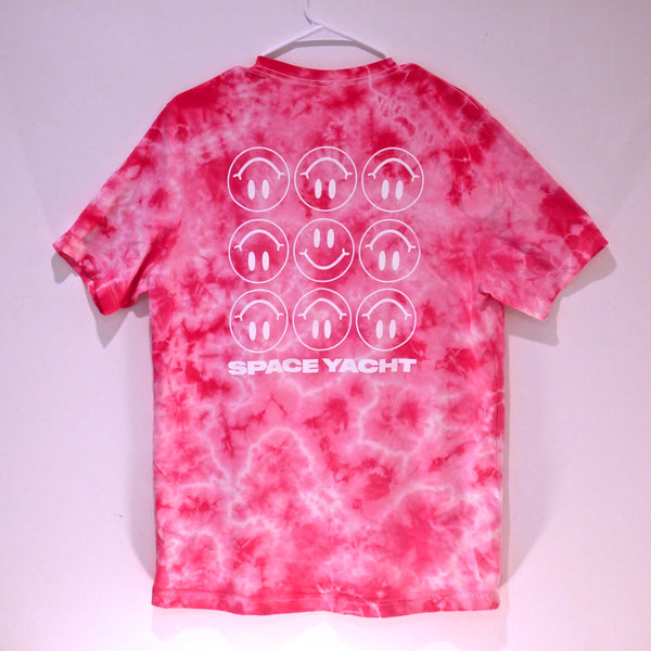 WE ARE SO F🙂CKED PINK TIE DYE UNISEX TEE (LIMITED EDITION OF 100) *PRE ORDER*