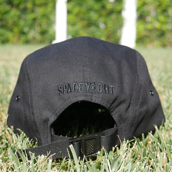 Black on Black 6-Panel Hat