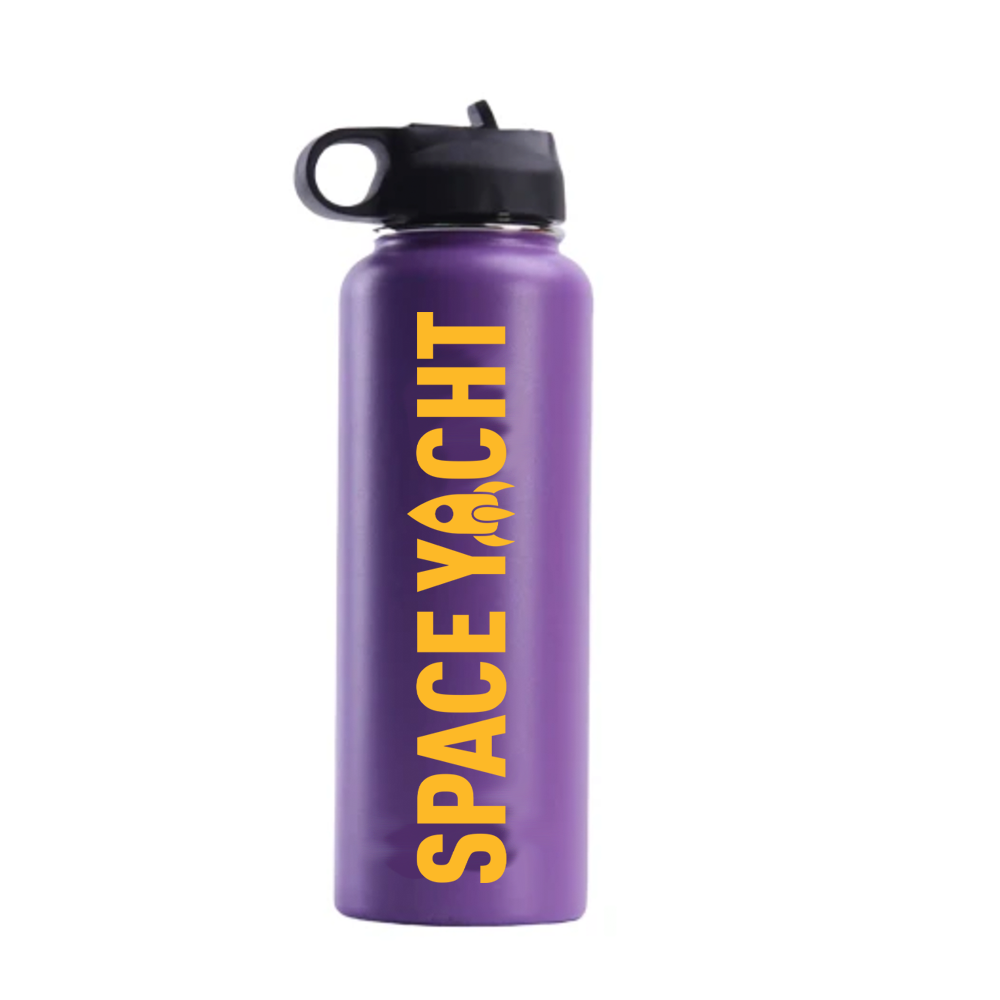 SPACE YACHT X HYDRO FLASK 40oz : LAKERS WORLD CHAMPIONSHIP EDITION