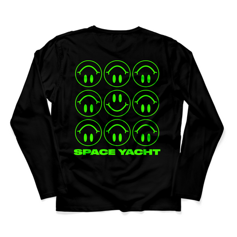 """We Are So F*cked"" Smiley Face Long Sleeve (Matrix Colorway) Limited Edition of 100"
