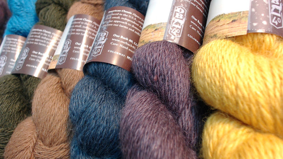 Alpaca Yarn - Blends
