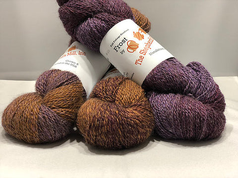 Yarn - fingering - Alpaca/Bamboo/Wool - Fall Foliage Frost Gradient by The Shepherd's Mill