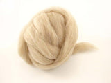 Combed Top - Alpaca/Wool - undyed