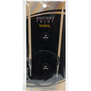"Knitting Needles - fixed circular 32"" - Knitter's Pride Basix"