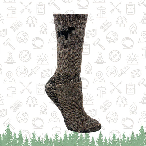 Outdoorsman Alpaca Socks
