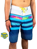 Banana Boat 4-Way Stretch Performance Quick Dry Board Short Flexfit Sun Protective ProtectUV UPF50+