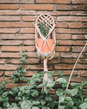 Balintataw Macrame Plant Holder with Wooden Ring