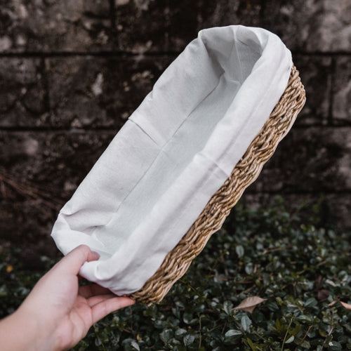 Bread Basket with Lining