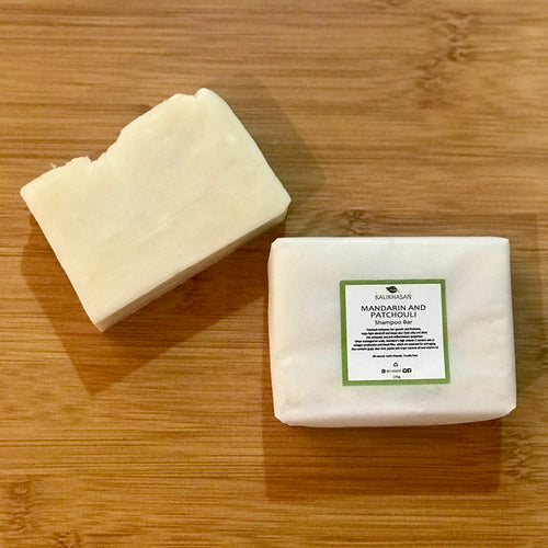Mandarin and Patchouli Shampoo Bar