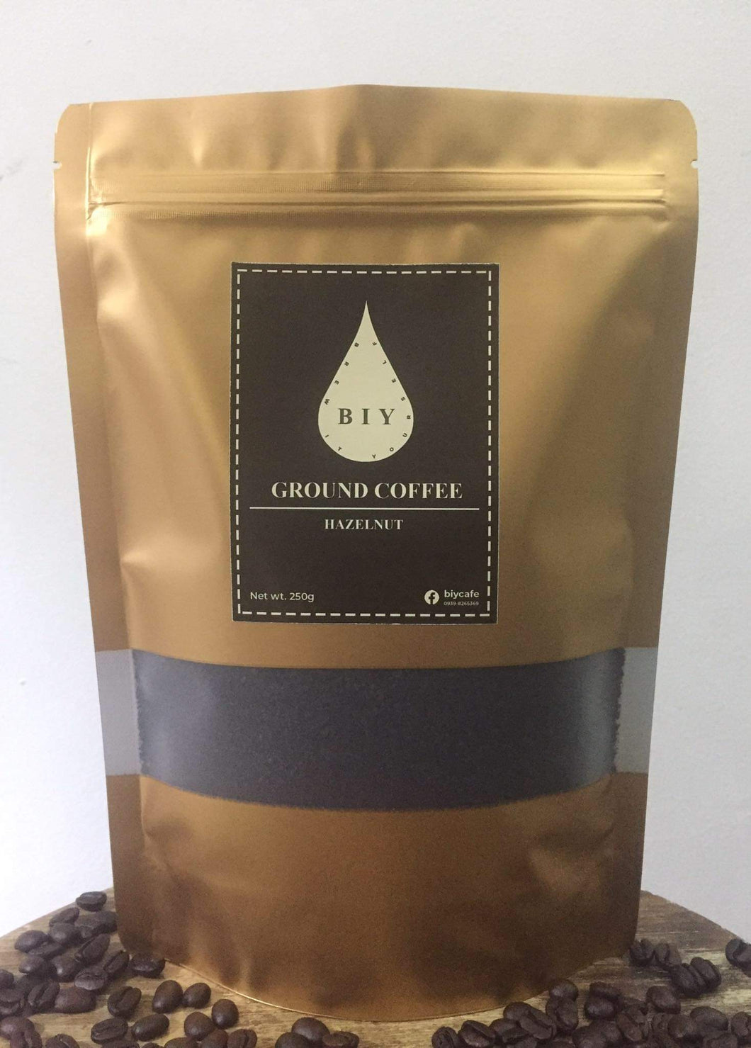 Hazelnut Ground Coffee (250g)