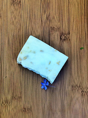Lavender and Geranium Oatmeal Body Bar