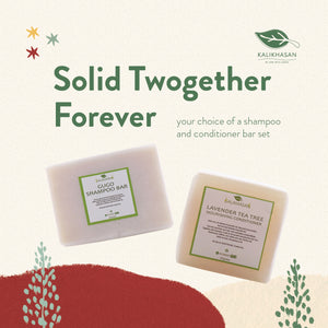 Solid Twogether Forever (shampoo + conditioner bar)
