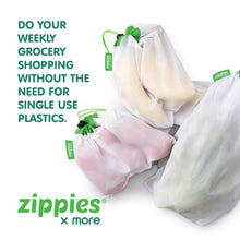 Zippies Reusable Mesh Produce Bags Pack of 5