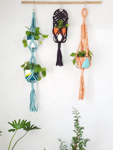 Silay 2-Tier Macrame Plant Holder