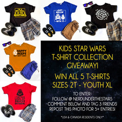 Star Wars Giveaway Instructions