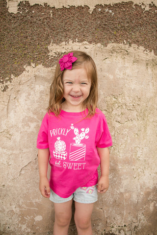 Prickly but Sweet Cactus T-shirt, Kids Cactus Shirt, Funny Cactus Shirt, Toddler Cactus T-shirt - Nerd Under The Stairs