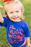 The Human World It's a Mess Kids T-shirt, Funny Mermaid Shirt, Disney Little Mermaid Shirt - Nerd Under The Stairs