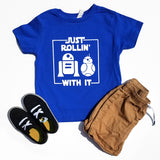 Just Rollin With It Star Wars T-shirt, Star Wars Droid Shirt