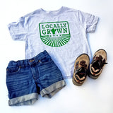 Locally Grown Cactus Shirt, Desert Kid Shirt, Cactus Toddler Shirt, Cactus Kids Shirt - Nerd Under The Stairs