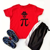 Pi-rate T-shirt for Kids, Pi Day shirt, Funny Math Shirt, Math Pun Gift, Funny Pirate Shirt - Nerd Under The Stairs