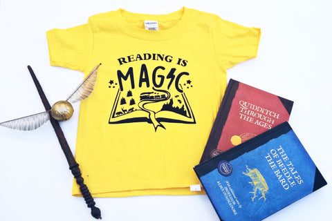 Reading is Magic Tee, Magical Book Kids T-shirt
