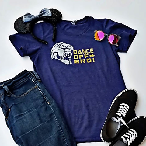 Dance Off Bro t-shirt, Guardians of the Galaxy Shirt, Funny Marvel shirt, Star Lord T-shirt - Nerd Under The Stairs
