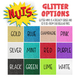 May Contain Glitter Vinyl Decal, Glitter Vinyl Car Decal, Funny Decal, Glitter Fancy Car Sticker - Nerd Under The Stairs