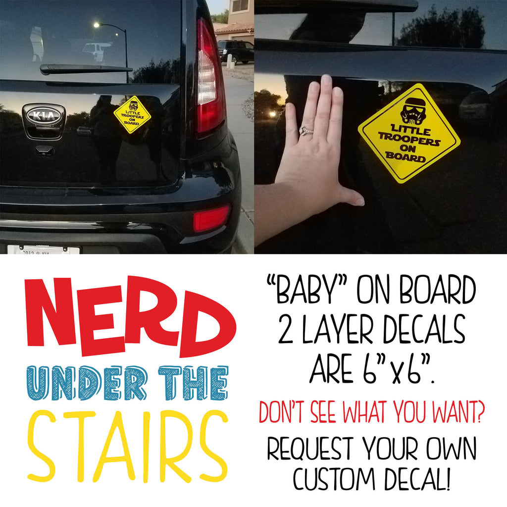 Superheroes on Board Decal, Family Car Decal, Funny Baby on Board Vinyl,  Batman and Robin Car Decal