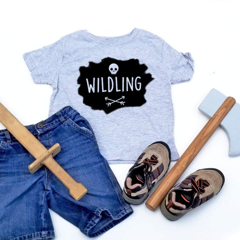 Wildling T-Shirt, Kids Game of Thrones Tee, Adventure Shirt