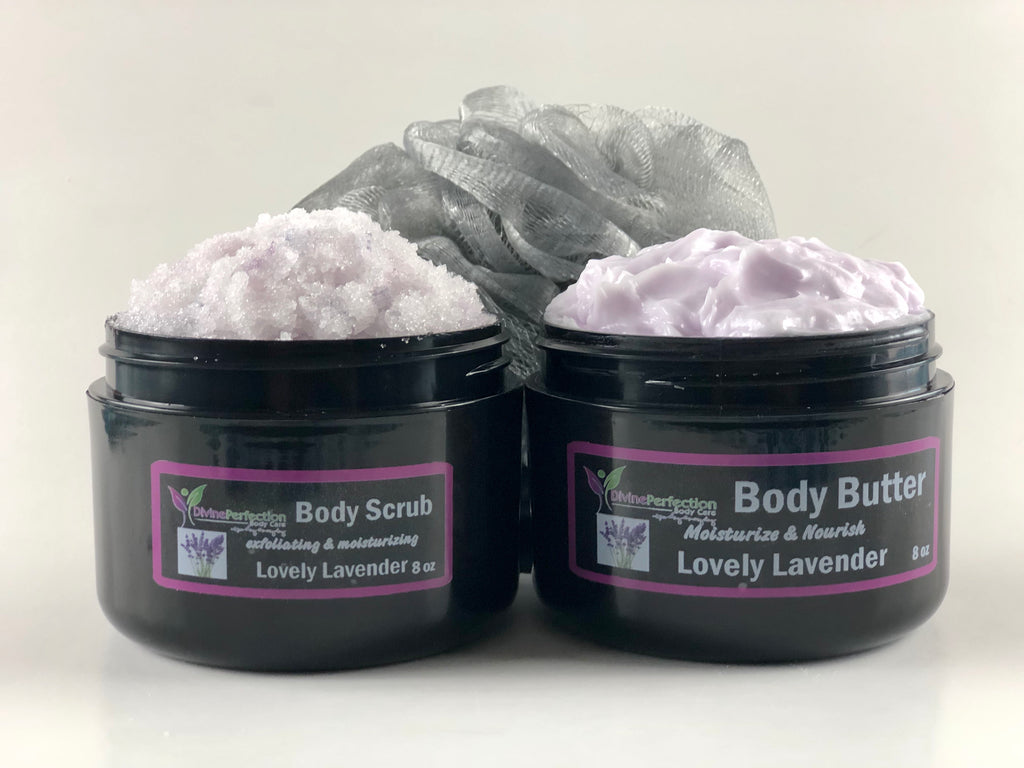 Dynamic Duo (Body Scrub & Body Butter Combo)