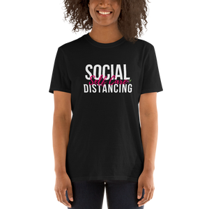 Social Distancing Self Care T-Shirt