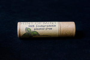 Hint of Mint Plastic Free 100% Biodegradable Lip Balm