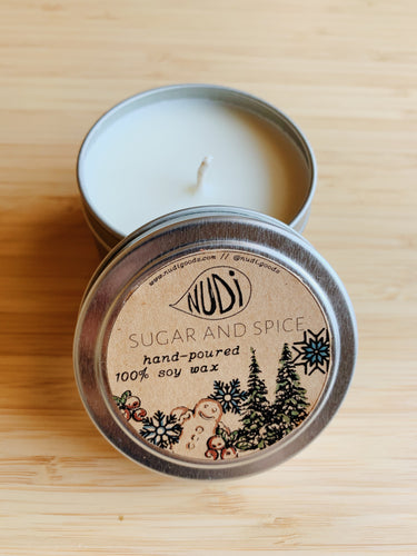 Sugar and Spice Handmade 4 oz. Soy Candle