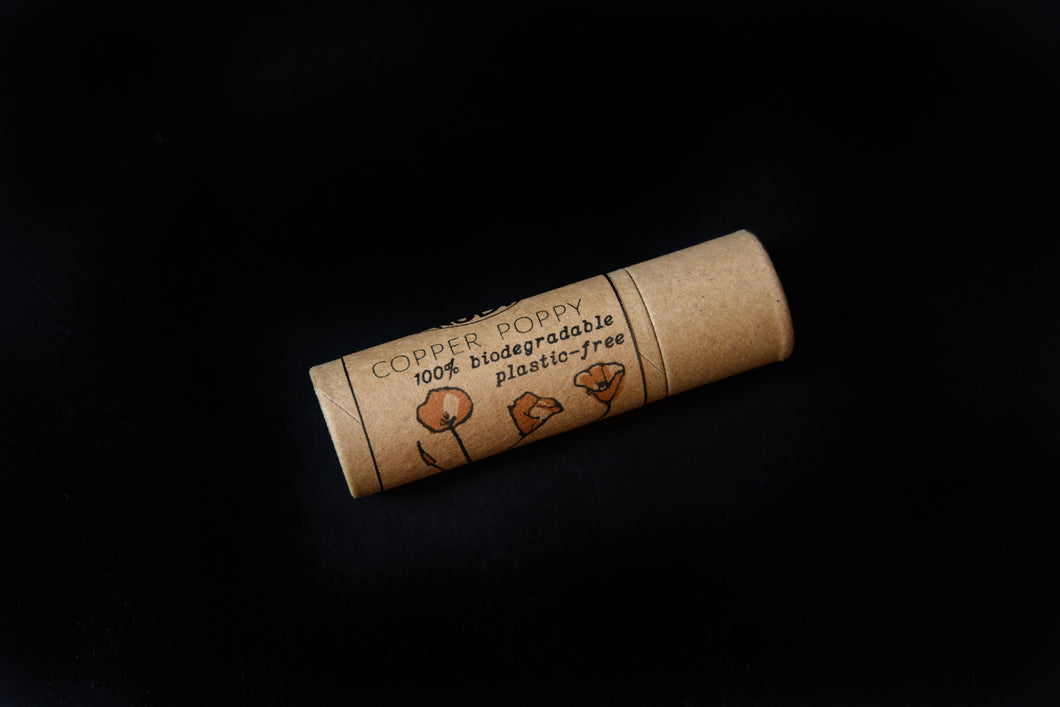 Copper Poppy Plastic Free 100% Biodegradable Shimmer Stick
