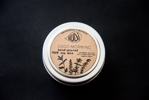 Good Morning Handmade 4 oz. Soy Candle