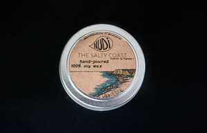 The Salty Coast Handmade 4 oz. Soy Candle