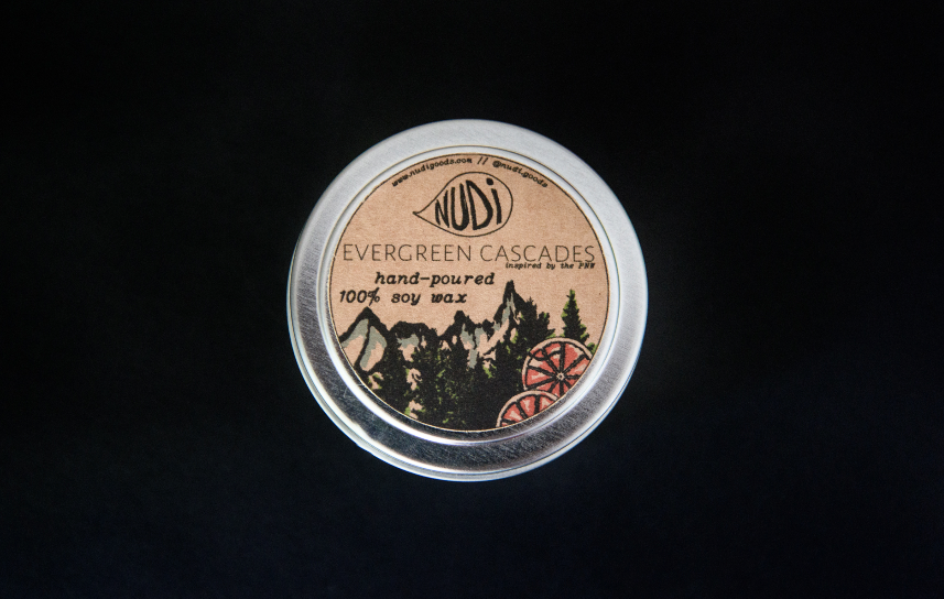 Evergreen Cascades Handmade 4 oz. Soy Candle