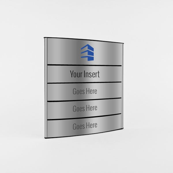 12 in. x 11 1/2 in. OFFICE DIRECTORY NAMEPLATE SIGN FRAME ...