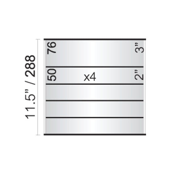 12 in. x 11 1/2 in. OFFICE DIRECTORY NAMEPLATE SIGN FRAME
