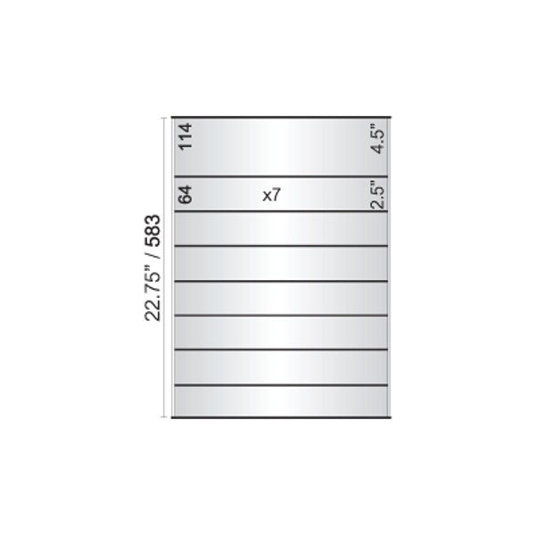 16 in. x 22 3/4 in. OFFICE DIRECTORY NAMEPLATE SIGN FRAME