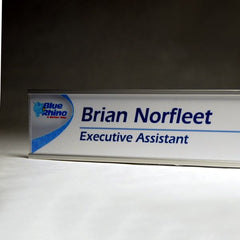 10 in. x 2 in. OFFICE DOOR / WALL NAMEPLATE SIGN FRAME
