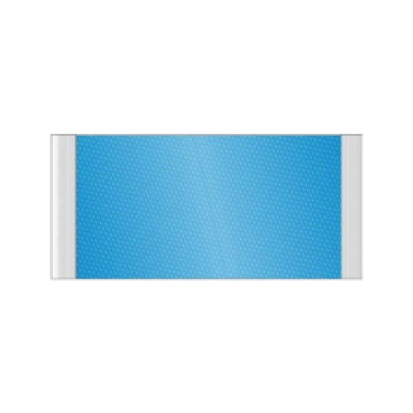 10 in. x 6 1/4 in. OFFICE DOOR / WALL NAMEPLATE SIGN FRAME