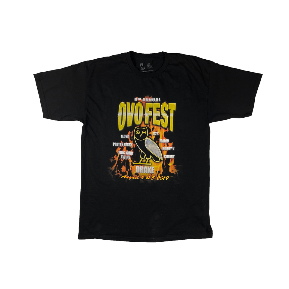 Black OVO Fest 2019 T-Shirt